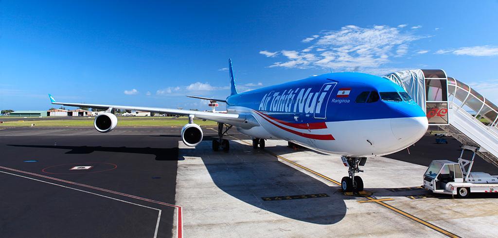 Air Tahiti Nui, partner of the Human Underwater Society