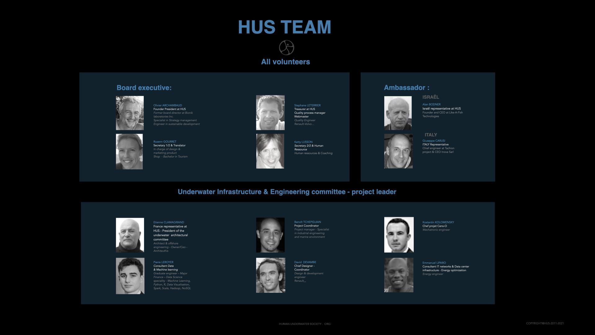 HUS team Advisors